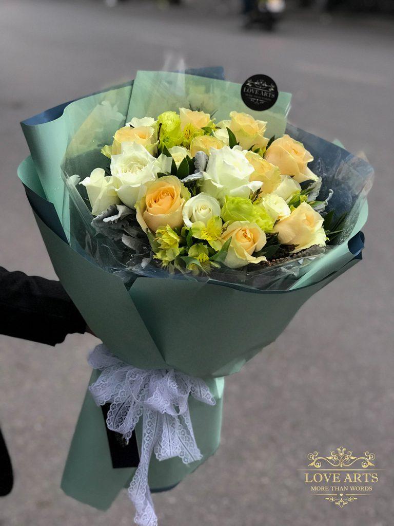 Chất lượng hoa luôn được đặt lên hàng đầu