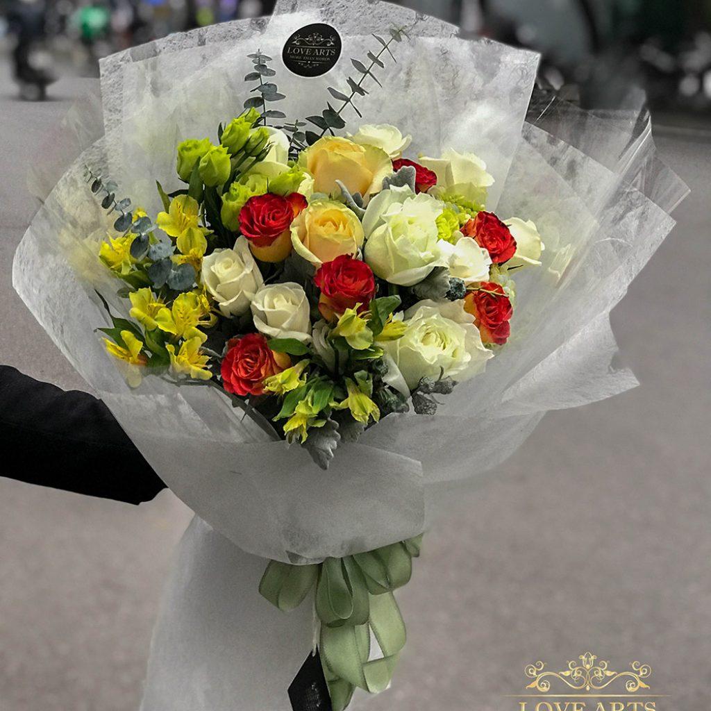 Hoa tặng bạn gái tại Lovearts