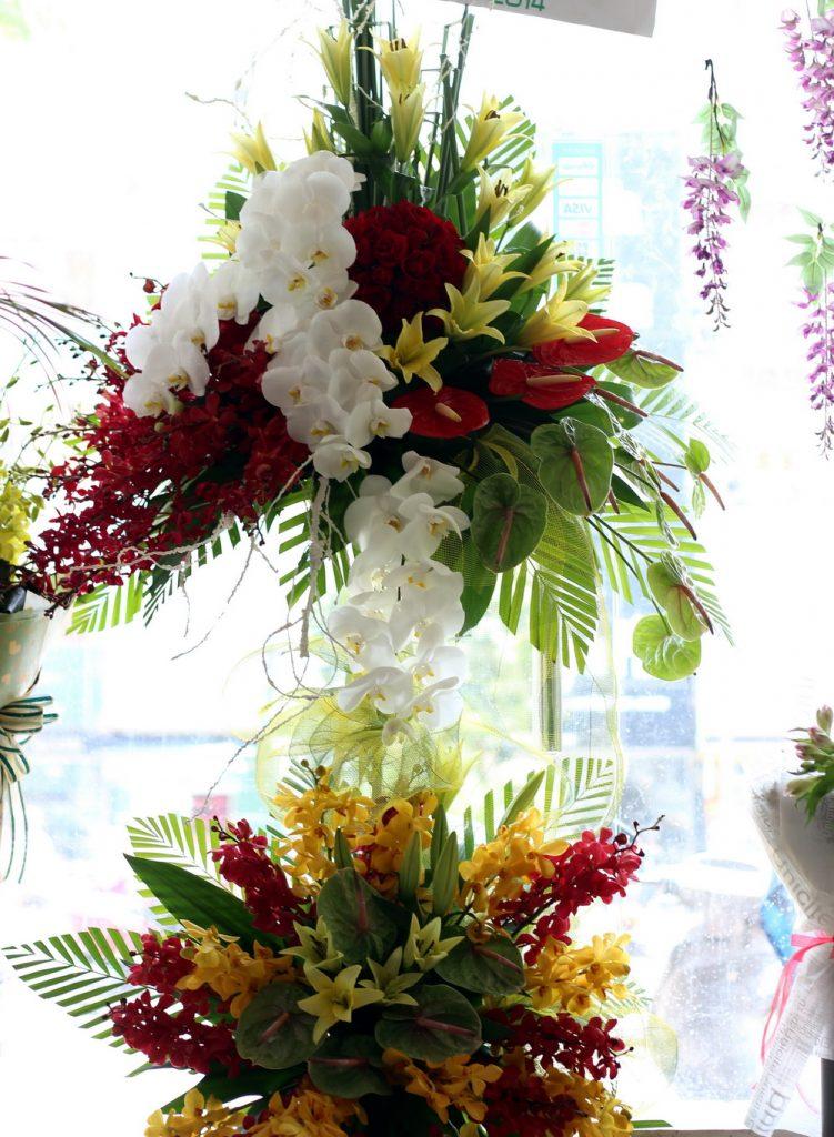 Kệ hoa dành cho khai trương đẹp mang nhiều ý nghĩa sâu sắc